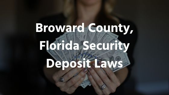 florida landlord tenant law security deposit